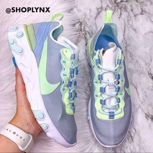 Nike React Element Gray Sneaker